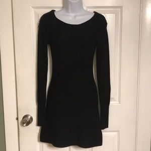 KAISELY Women's black knitted dress